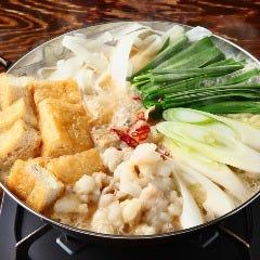 炒め味噌もつ鍋