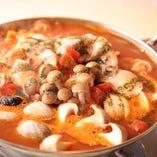 バルボア自慢のトマト鍋
