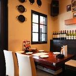 【20名様まで|テーブル席】お洒落なインテリア◎開放的なテーブルスペース