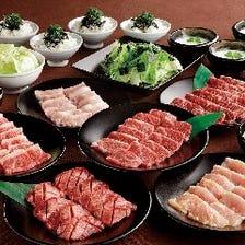 ◆コスパの良いコースで焼肉を満喫♪