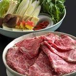日本三大和牛の一つ「近江牛」を使用しております。