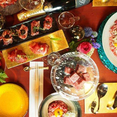 ◆美味しい肉料理を贅沢に堪能