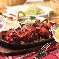 インドならではの自慢の絶品肉料理