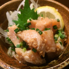 佐賀県産ふもと鶏の胡麻ポン酢
