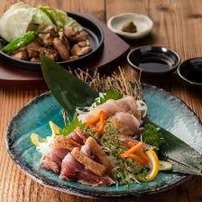 八鶴盛り(炙り焼き&たたきセット)