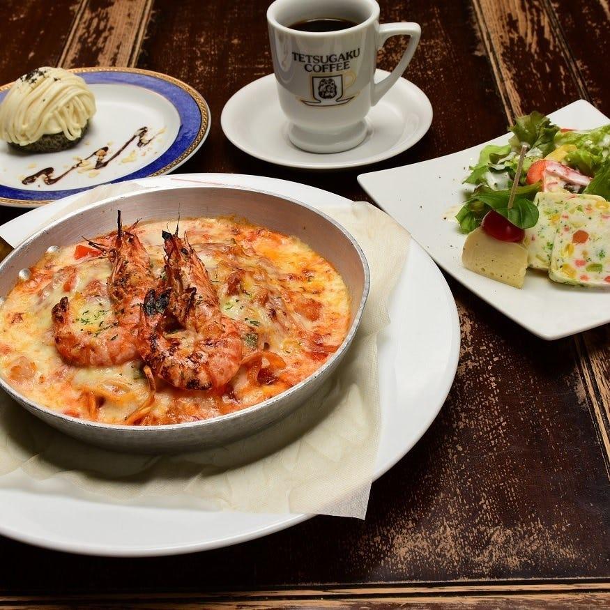【ディナーコース】18種類の石釜焼きピッツァ、パスタから選べる