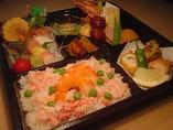 【御料理弁当】「えび蟹」