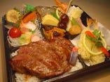 【御料理弁当】「ステーキ」