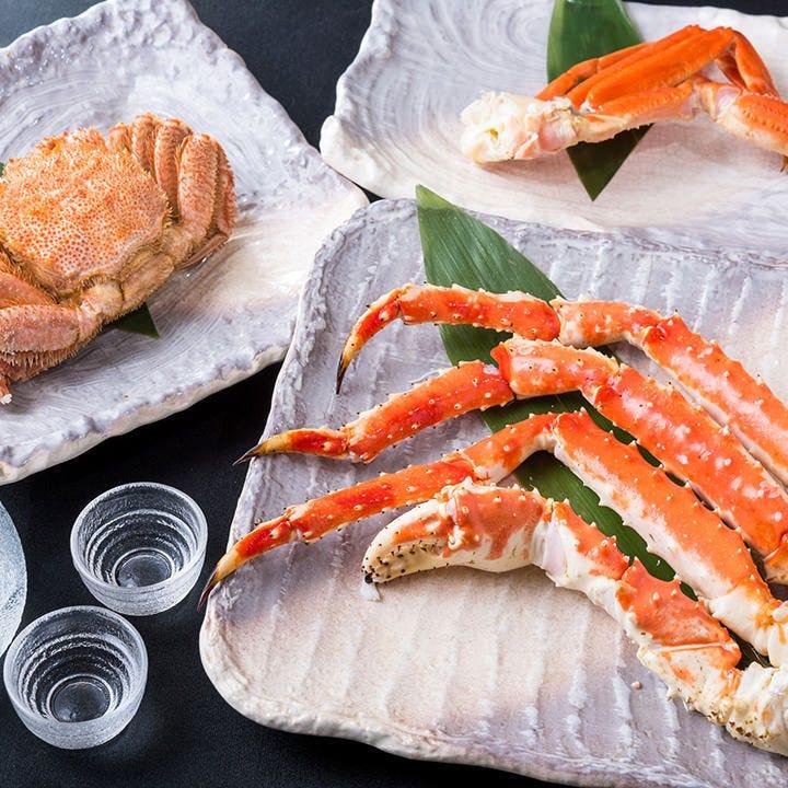 大人気の蟹食べ放題プラン7,260円~