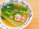 豚肉と小松菜(チンゲンサイ)の炒めもの