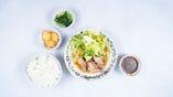 豚肉の魚醤炒め弁当