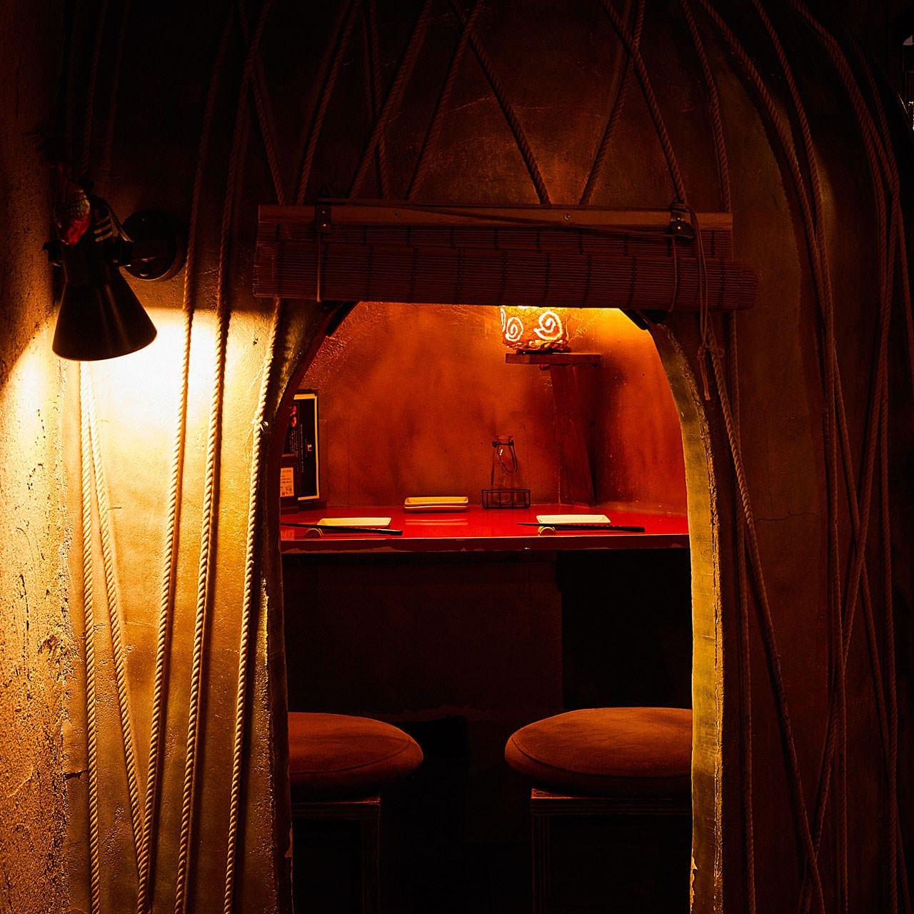 デートに最適なかまくら風隠れ家個室