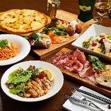 自慢の料理をご堪能できる『スペシャルコース』5,000円(税込)