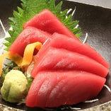 【原価提供】生本マグロいいとこ刺身【北海道】