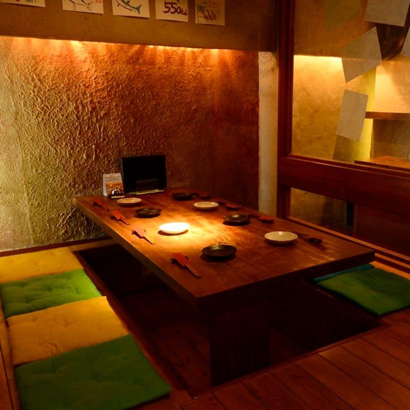 【大人の隠れ家】 個室は最大10名様までの宴会が可能
