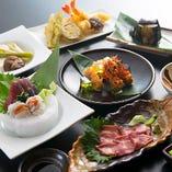 会席仕立てのコースも 自慢のお料理は3,000円~ご用意