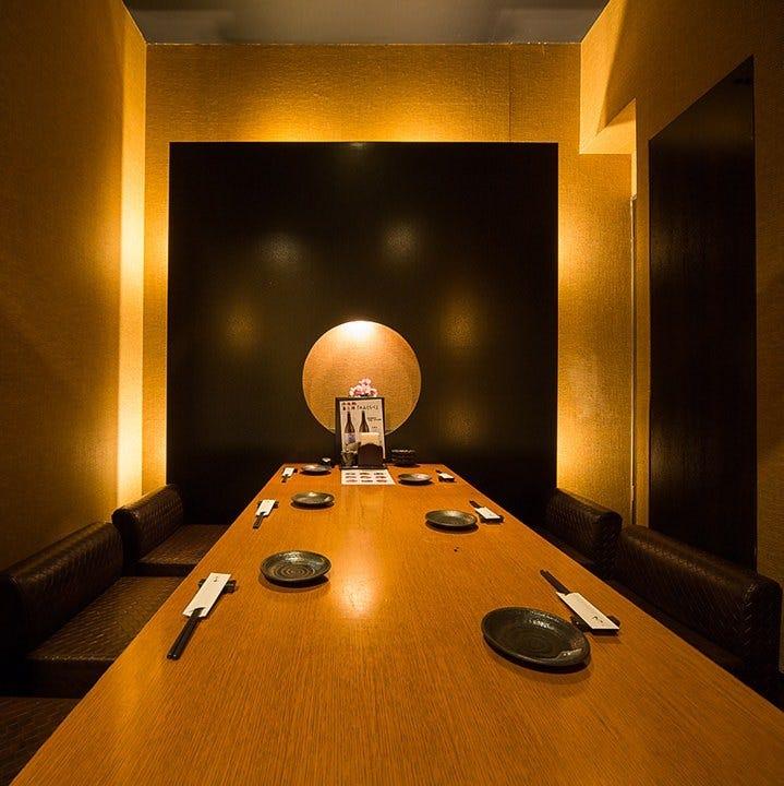 【予約必至】寛ぎの完全個室