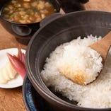 土鍋ごはん ツヤツヤふっくら、炊きたての贅沢。