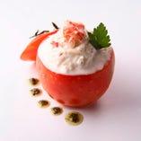 【野菜料理】 みずみずしい甘味、からだ想いの彩り。