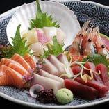 近海の地魚や道内各地で水揚げされた魚介を中心にご用意!