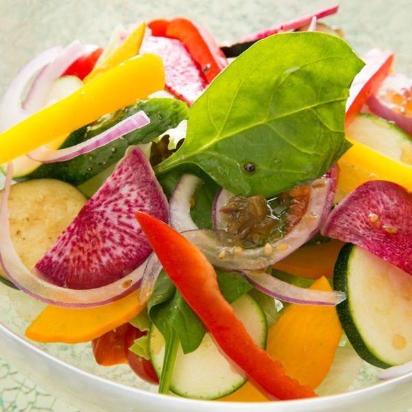 話題の鎌倉野菜を味わう