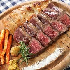 北海道の肉皿3種盛り お肉300gのボリューム