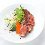 [肉料理] 国産牛のサーロインステーキ