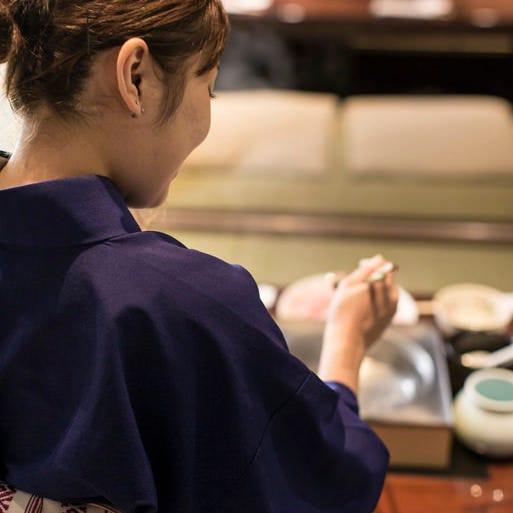 京野菜や近江そば、近江米など近隣の美味を揃えております