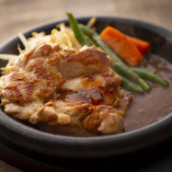 日南鶏のもも肉使用!旨みたっぷり「チキンステーキ」