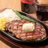 良質、ボリューム満点のステーキをリーズナブルに!