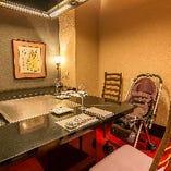 テーブル席半個室(~4名様×4部屋)