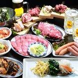 本格焼肉/食べ飲み放題コース<全100種>4,980円⇒4,480円!