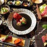 A5ランクのお肉×季節の食材と逸品料理