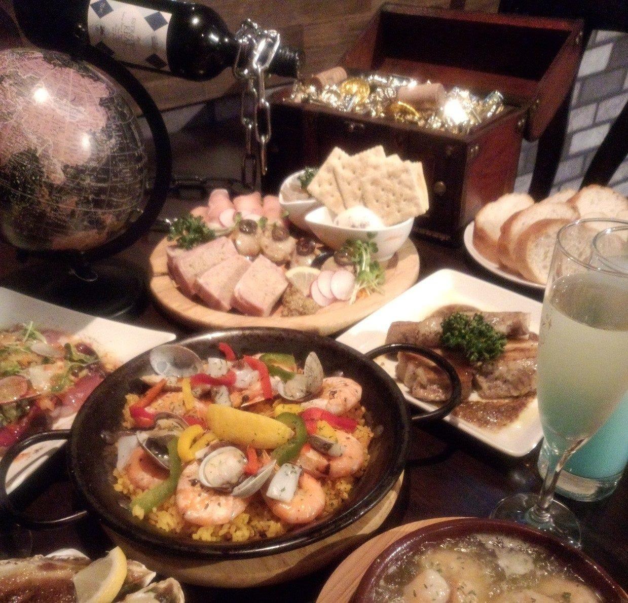 手作り本格スペイン料理
