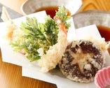旬野菜の天ぷら