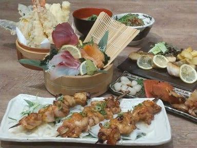 天ぷら海鮮米福 シャミネ松江店 コースの画像