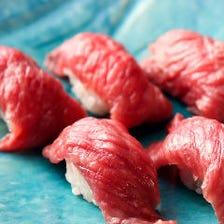 A5神戸牛の肉寿司