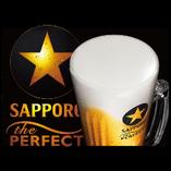 完璧な生ビール。パーフェクト黒ラベル!ミクロン単位の衝撃。美味いビールを是非