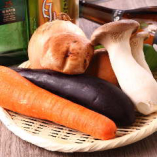 農薬不使用野菜を使用しています。