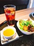 サラダ・スープ・デザートセット
