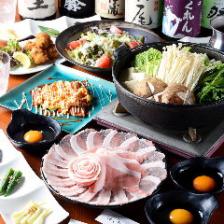◇選べる鍋フェア♪◇すき焼き/台湾鍋/台湾トマト鍋【あぐー豚を堪能】鍋コース5,980円