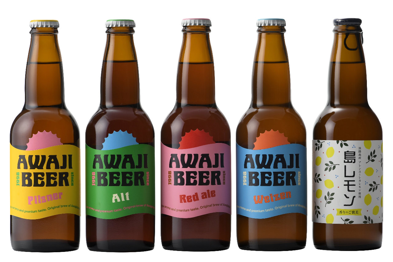 クラフトビールAWAJI  BEERを提供