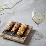 焼き鳥とワインのペアリング