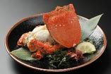 九州南部で獲れる稀少な「旭蟹」ぎっしり詰まった甘い身が◎