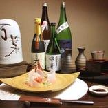 秋田の地酒を豊富に取り揃えております。
