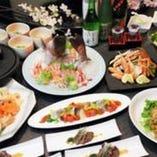 コース料理一例! 3,000円~ございます。