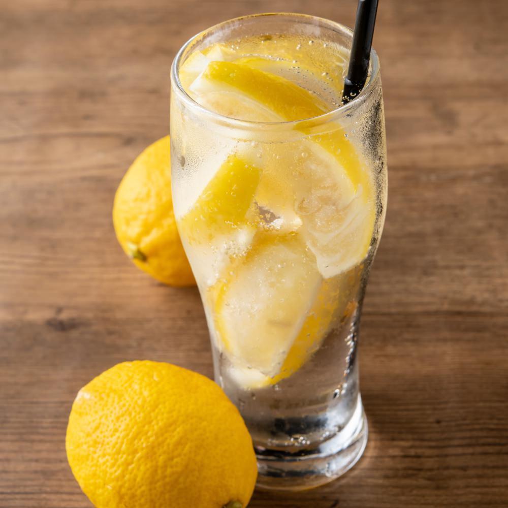 果実の旨味!凍結レモン、凍結生キウイ、凍結生パインサワー