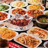 80種類の本格中華2時間食べ放題コース