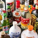 紹興酒をはじめ様々な中国酒を楽しめます