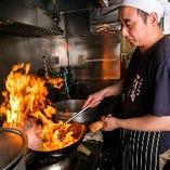 経験豊富な料理人がつくる本格中華料理をぜひご堪能あれ